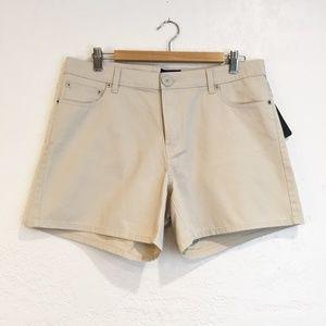 Nautica Jean Company Hi-Waist Shorts with Pockets